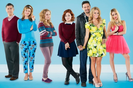CHRIS PARNELL, ANA GASTEYER, ALLIE GRANT, JANE LEVY, JEREMY SISTO, CHERYL HINES, CARLY CHAIKIN
