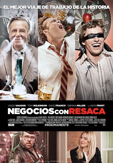 Negocios con Resaca_Poster