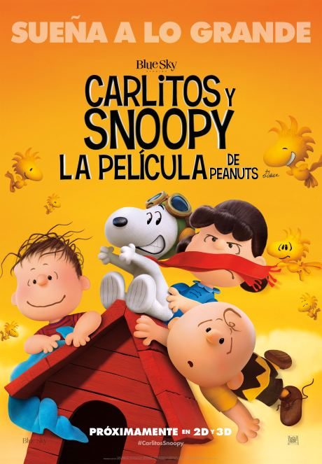 Carlitos y Snoopy_Poster Final